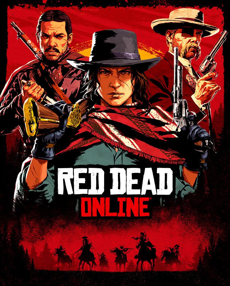 Illustration de Red Dead Online